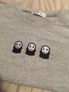 Buy 3 Get 1 FREE! Grey No-face Top