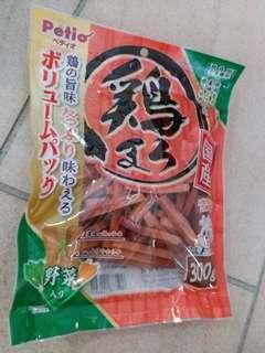 破底價 日本petio 寵物狗零食雞肉條