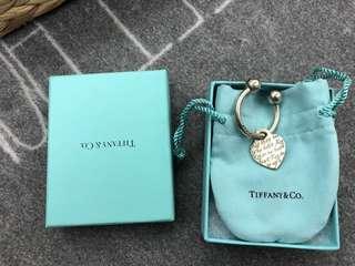 全新Tiffany 鑰匙圈墜飾925•保證正品•