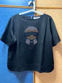 Plus size - Karl 💕 Fendi Tee Shirt d722167e76fce