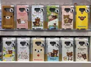 🚚 Rilakkuma Original case for Samsung Note9/Iphone max XR Xs