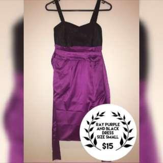 Ray Purple Dress