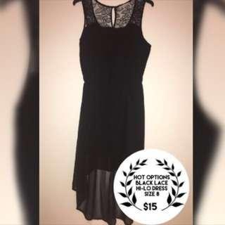 Hot Options Hi-Lo Dress
