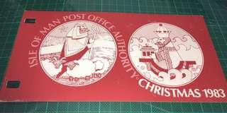 1983 Isle of Man 套摺
