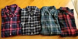 Muji Uniqlo Flannel Shirt Madness Wtaps Noah