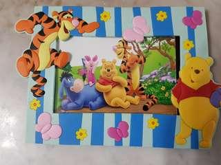 Brand new kids Tigger Pooh photo frame