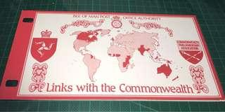 1984 Isle of Man 套摺