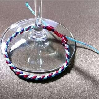 🚚 客製化蠶絲蠟線手環
