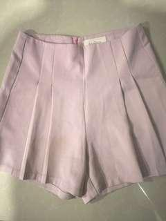 Kashieca pleated highwaist shorts