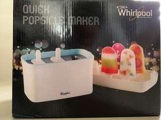 Whirlpool Quick Popsicle Maker