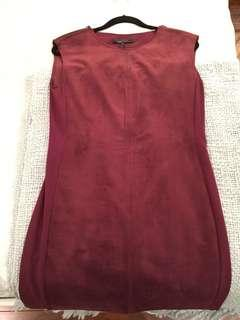 BCBG Suede Dress