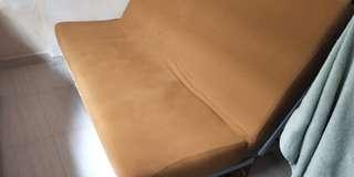 Super Cheap to Clear Ikea Sofa Bed + Brown Sofa Cover
