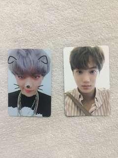 WTS/WTT EXO Kai Chanyeol DMUMT Photocard