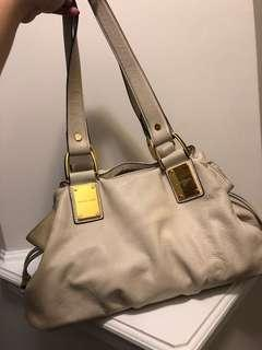 Cream Michael Kors Handbag