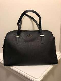 Black Saffiano Kate Spade Purse