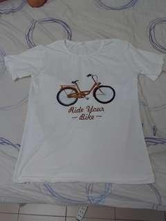 🚚 女裝 腳踏車上衣 全新