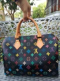Lv speedy 30 black Multicoloured
