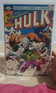 Incredible hulk #272 rocket raccoon