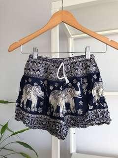 Thai Elephant Shorts (Fits 4-8)