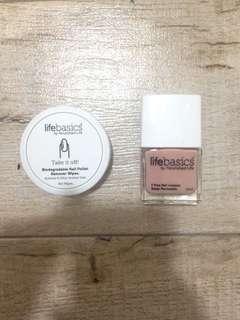 Nail lacquer n nail polish remover