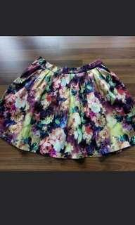 Brand new with tag floral skirt