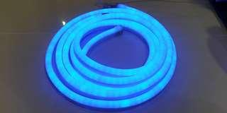 LED Neon Light Strip 3m Soft Blue color