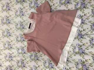 Old Rose Cutout Top