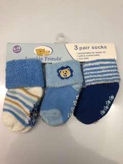 3pcs baby socks
