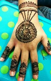 Henna party or bridal