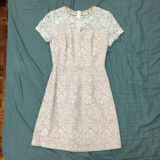 MGP label lace dress in pink