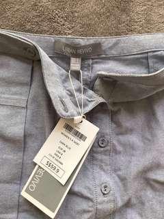 New Urban Revivo Grey Skirt