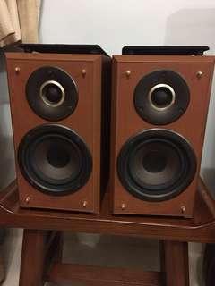 天龍 Denon 2-way speaker system SC-F100 書架喇叭一對