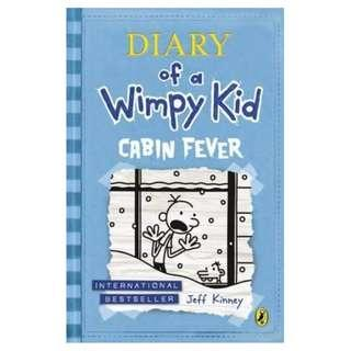 Diary of a Wimpy Kid Cabin Fever (Paperback)