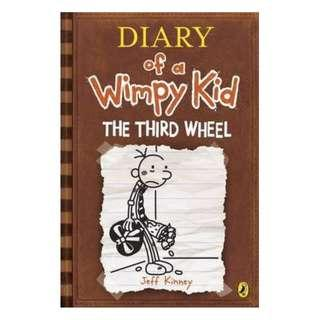 Diary of a Wimpy Kid The Third Wheel (Paperback)