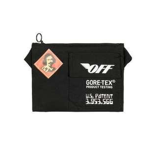 Authentic Off-White c/o Virgil Abloh Gore-tex Belt Sling Bag