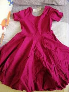Brand New Maroon Dress