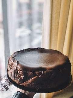 Chocolate Burnt Cheesecake
