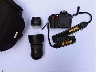 Nikon D90 + Lens 18-200mm