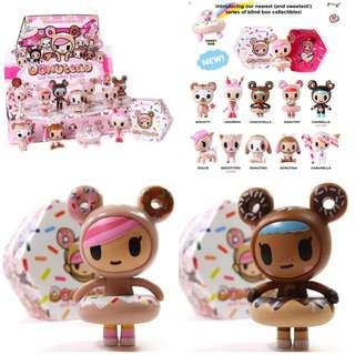 Donutella and her sweet friends series 1 figurine - Donutella and Chocotella
