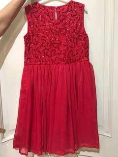 Debenhams Red dress