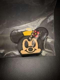 迪士尼 Minnie Mouse chain 吊飾 扭蛋
