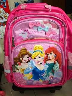 Kids School Bag with 3 wheels