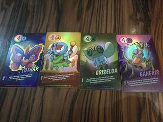 Book bugs NEW Booster Cards