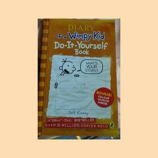Diary of a Wimpy Kid DIY Book