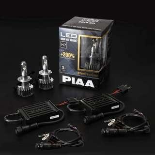 PIAA LED 6000K H4 headlamp kit condition 10/10