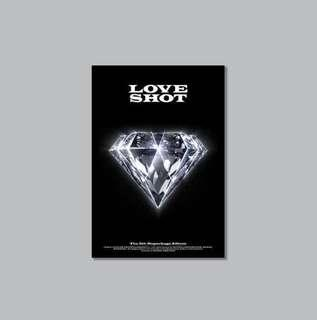 [INSTOCK]EXO 'LOVE SHOT' THE 5TH REPACKAGE ALBUM [LOVE VER.]