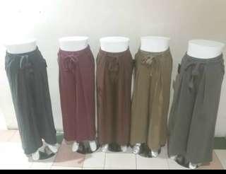 [Promo akhir tahun !] Celana kulot big size terbaru!