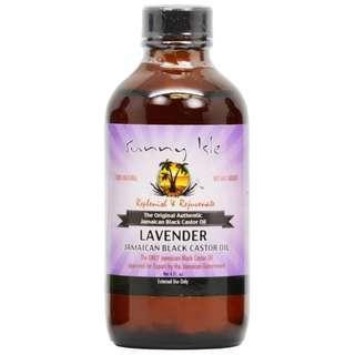 Jamaican Black Castor Oil Refined & Rejuvenate Lavender Sunny Isle (4 fl oz)