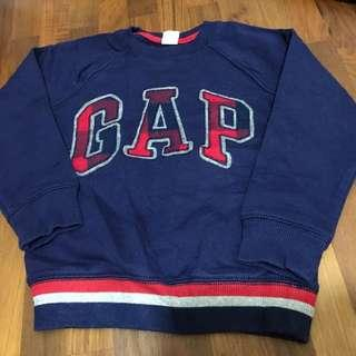 Gap fleece lined pullover 5 years old