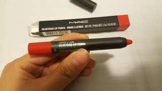 "Brand new and unused MAC Velvetease lip pencil in ""Lover's Lane"""